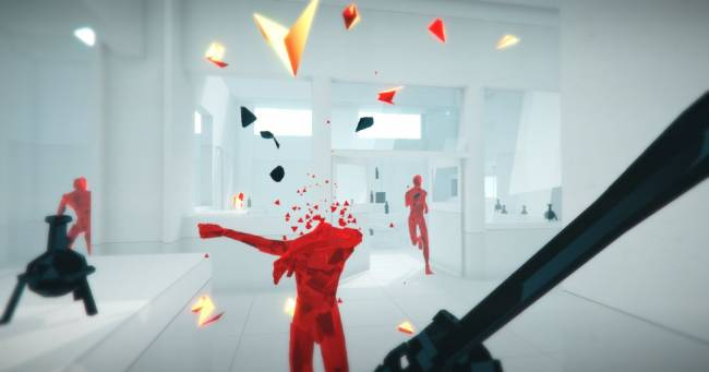 Superhot is coming to PlayStation VR