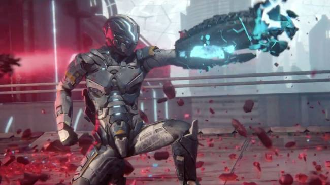 'Matterfall' brings frantic sci-fi shooting to PS4 on August 15th