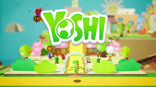 Nintendo's 'Yoshi' platformer is coming to Switch in 2018