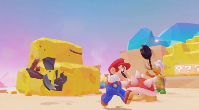 'Super Mario Odyssey' comes to the Switch October 27th