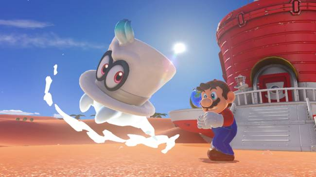 'Super Mario Odyssey' may look bizarre, but it feels just right