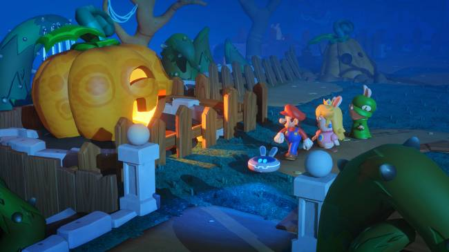 'Mario + Rabbids: Kingdom Battle' shouldn't work, but it does