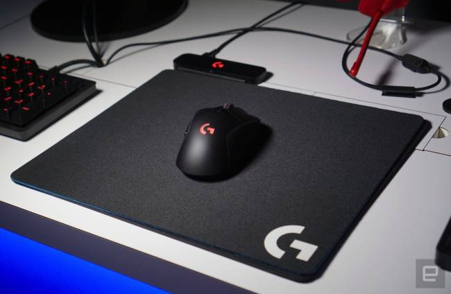Logitech's wireless mouse charging tech feels like a miracle