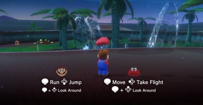 'Super Mario Odyssey' lets player two tag along as Mario's hat