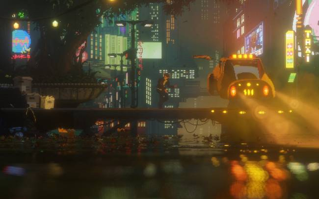 'The Last Night' is a stunning take on 16-bit games for the 4K generation