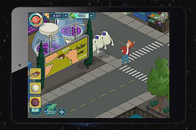 The 'Futurama' crew returns today in a new mobile game
