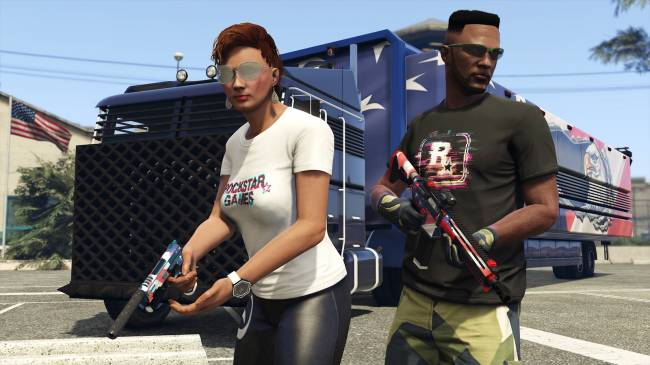 'GTA Online' update brings new multiplayer mode and patriotic swag