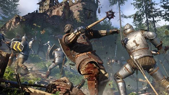 Kingdom Come: Deliverance's first hour has gambling, smithing and street fighting