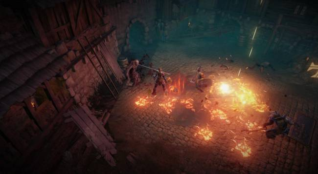 Couch Co-Op Added to Vikings - Wolves of Midgard on PS4