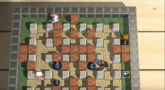 Classic Konami Characters Added to Super Bomberman R Roster