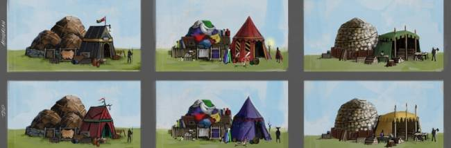Pitching a tent in Camelot Unchained