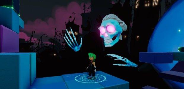 Hybrid VR puzzle-platformer Carly & The Reaperman out
