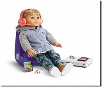 American Girl Dolls Get Xbox Game Set