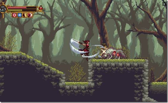 Metroidvania Plague Huntress Follows A Holy Warrior Fighting A Monstrous Illness