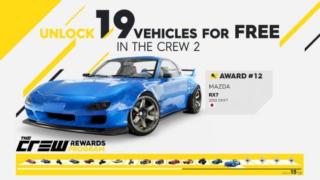 Ubisoft Reveals The Crew Rewards Program, Letting You Unlock 19 Vehicles for The Crew 2 in The Original Game