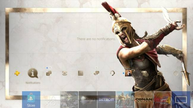 Assassin's Creed Odyssey Free PS4 Dynamic Theme Released