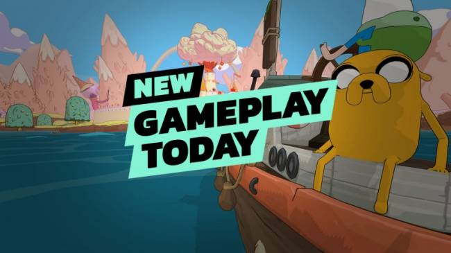 New Gameplay Today - Adventure Time: Pirates Of The Enchiridion
