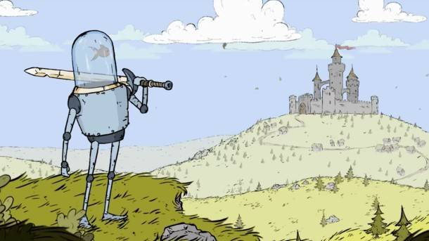 Medieval Action RPG Has You Play As Fish-Powered Robot