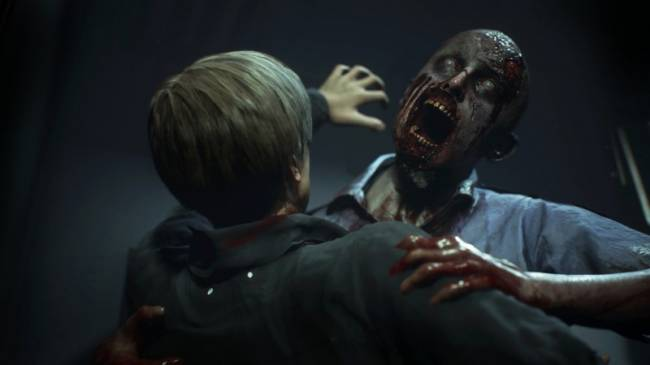 Watch Leon Stalk The Halls Of The Raccoon City Police Department In New Resident Evil 2 Footage