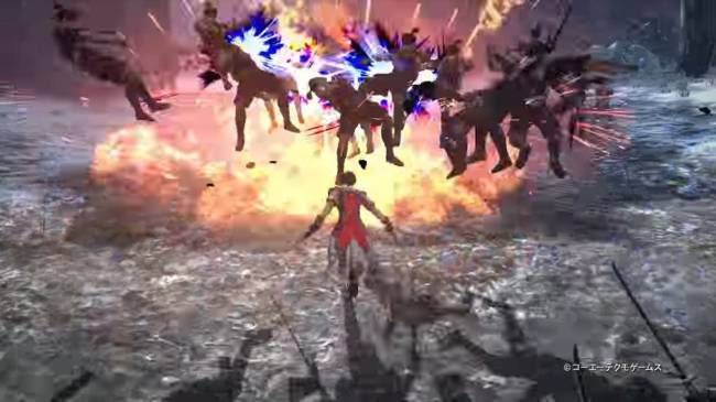 Warriors Orochi 4 on Switch is looking a bit rough