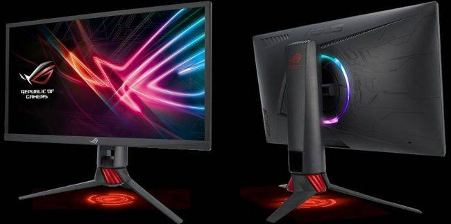 Asus unveils a 24-inch 240Hz gaming monitor that's all about speed