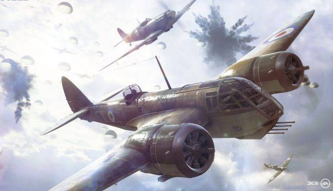 Battlefield 5's 'Airborne' mode will parachute players into the fight