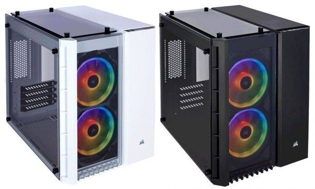 Corsair introduces a tempered glass case for small form factor builds