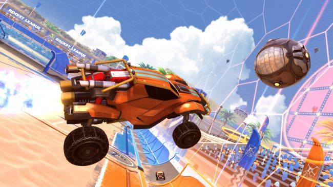 Rocket League players say the new Salty Shores map is too damn bright