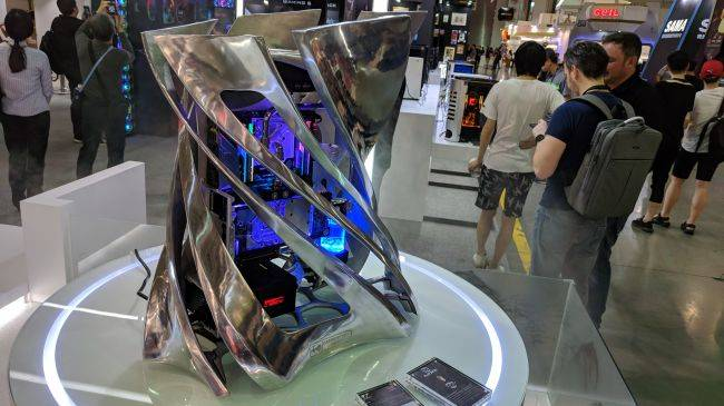 In Win's 2018 concept case marries PC hardware and fine art