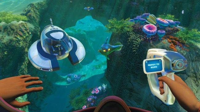 Subnautica celebrates World Oceans Day with a weekend sale