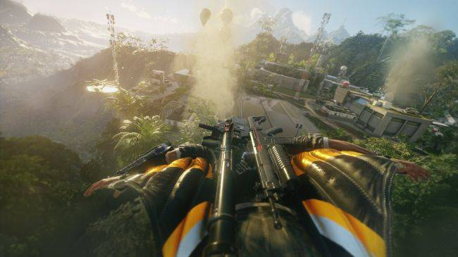 Just Cause 4 image leak reveals new wingsuit and jungle environments