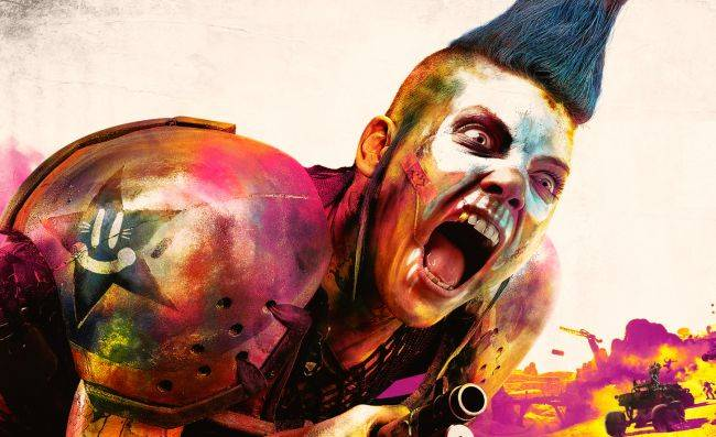 Rage 2 trailer shows off cars, guns, special powers, and a weird post-apocalypse