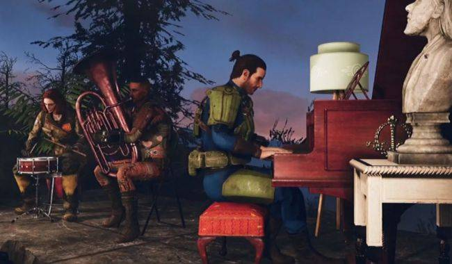 Fallout 76 is an online game, and you can nuke other players