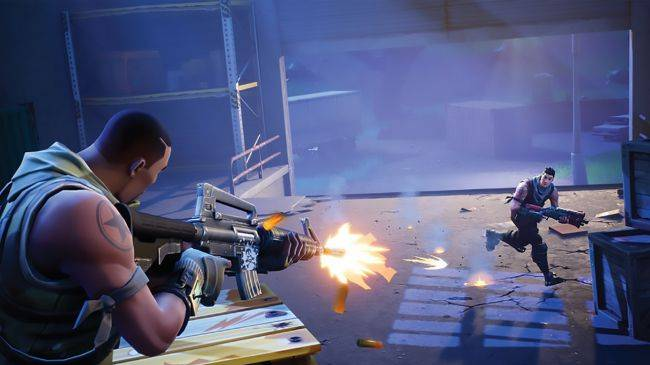 Fortnite adds thermal scope assault rifle and soccer stadium