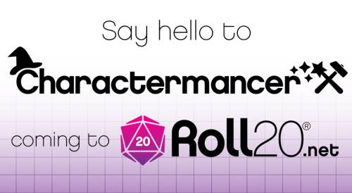 Roll20 is getting a built-in character creator