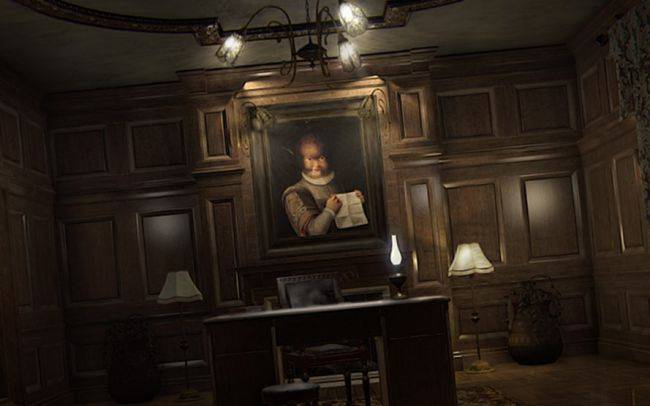 The psychological horror game Layers of Fear is free on Steam