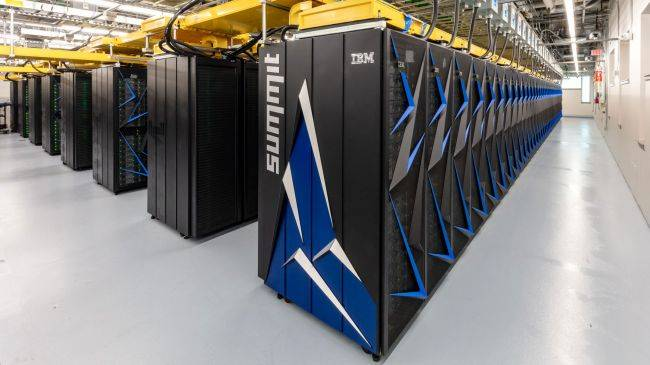 ORNL's Summit is the most powerful supercomputer in the world