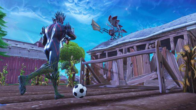 Where to score each goal in Fortnite's soccer pitches challenge