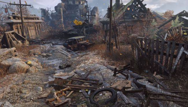 Metro Exodus' day-night cycle changes NPC behavior, dynamic weather can mask footsteps