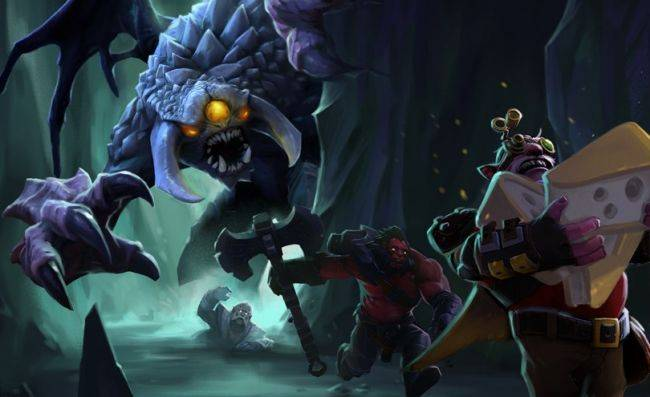 The Underhollow, Dota 2's battle royale with cheese, is now live