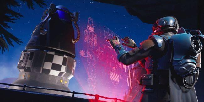 Map updates suggest Fortnite's next season might begin with a rocket launch