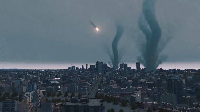 Watch a 25-minute disaster film set purely in Cities: Skylines