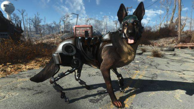 Mod brings Cyberdog Rex from New Vegas to Fallout 4