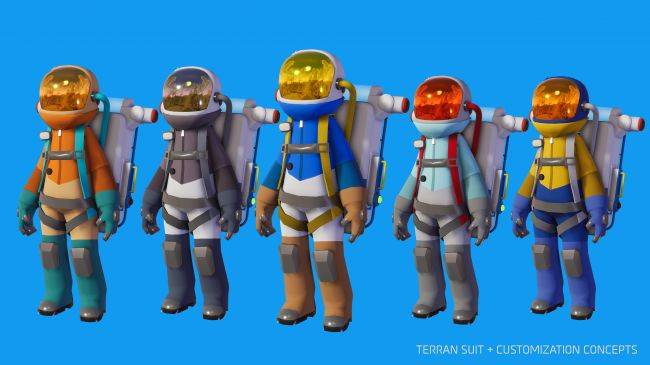 Astroneer 1.0 will increase co-op beyond four players and add player customization