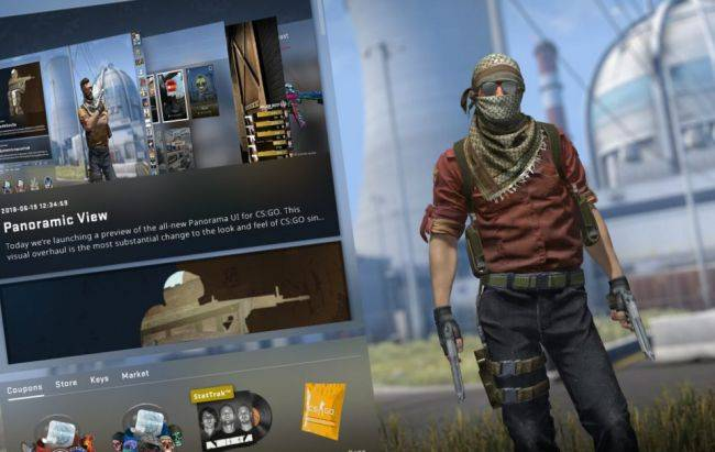 CS:GO's new Panorama UI is now live in beta