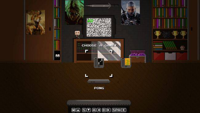 GOG Easter egg lets you play Pong and Snake using the Konami code