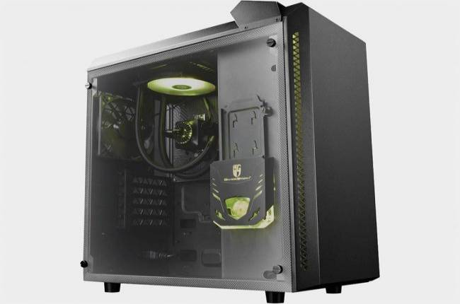 Get a mid-tower case with integrated liquid cooler and $20 Newegg gift card for $80