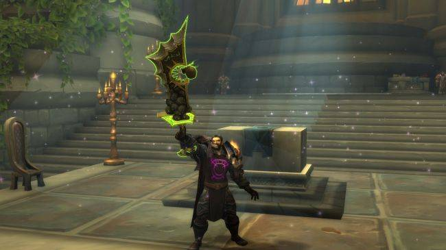 World of Warcraft begins phasing out artifact weapons and other Legion-specific features