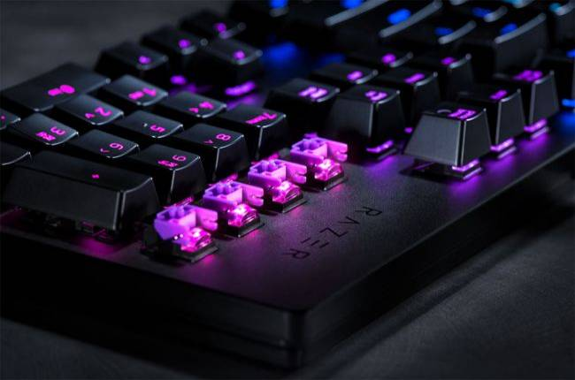 Razer built a light-based key switch for its newest mechanical keyboards