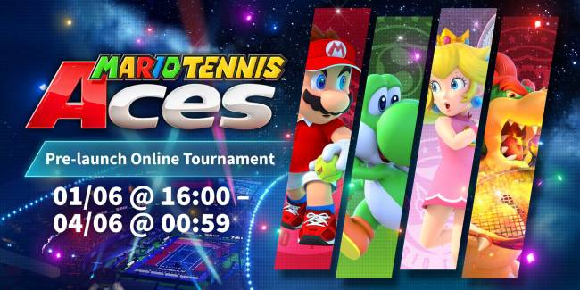 Get your first taste of 'Mario Tennis Aces' on Switch this weekend